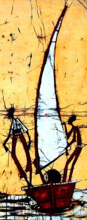 Batik Art photo