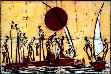 africa outline: African Art Life