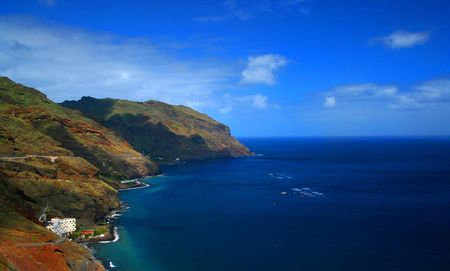 Tenerife Coatline Banque d'images