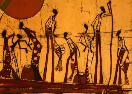 batik: Image africaine