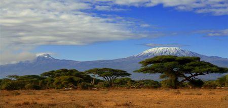 Kilimanjaro Banque d'images