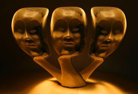 Three Faces photo