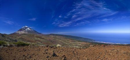 Teide Mountain Blue Stock Photo - 3260182