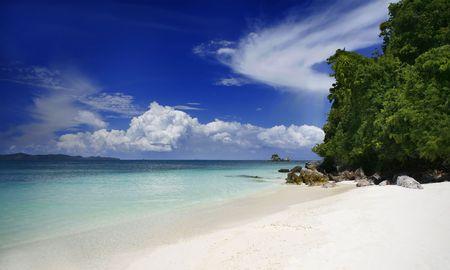 Kai Nok Beach Zdjęcie Seryjne