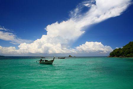 andaman: Andaman Sea View Stock Photo