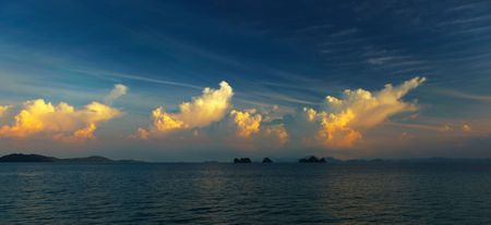 Evening Sky Koh Samui Stock Photo - 5206626