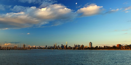 Melbourne City Victoria Stock fotó