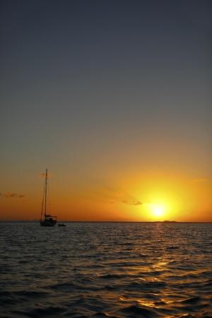 Sunset Sea Australia Stock Photo - 9731279