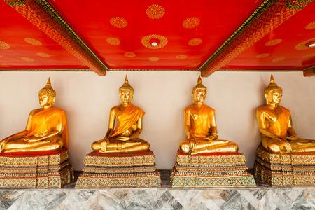 Budhist in Thai Temple photo