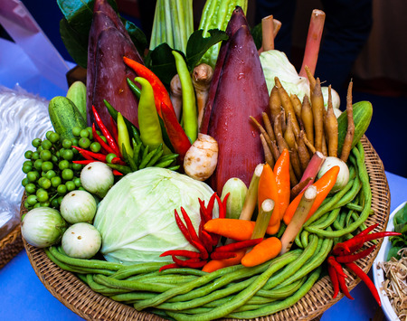 Vegetable and Herb in Thailand photo