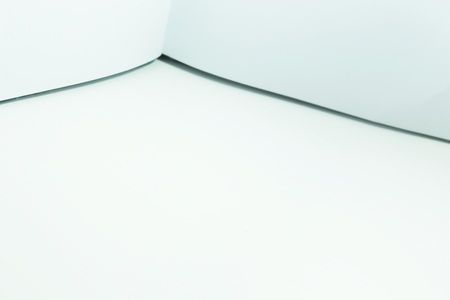 viewpoint: a white wallpaper in coner viewpoint
