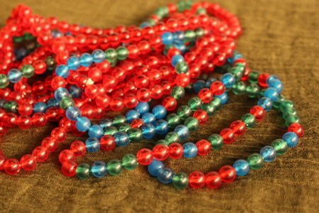 varnished: Colorful Bead Necklace