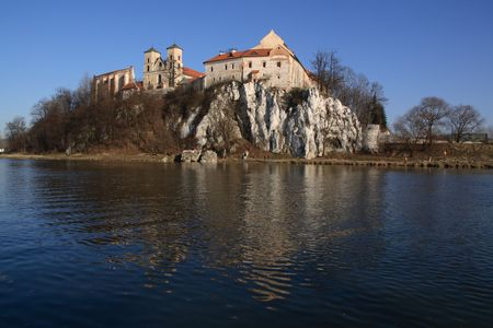 benedictine: Tyniec - abad�a benedictino, cerca de Cracovia, Polonia