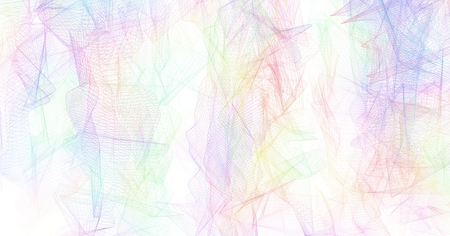 colorful abstract background: spectrum color wire background Stock Photo