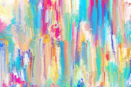 colorful abstract brush stroke for background