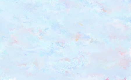 light blue abstract painting