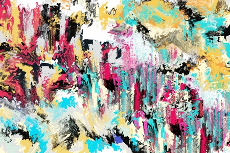 grunge painting canvas