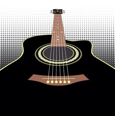 folk music:  acoustic guitar