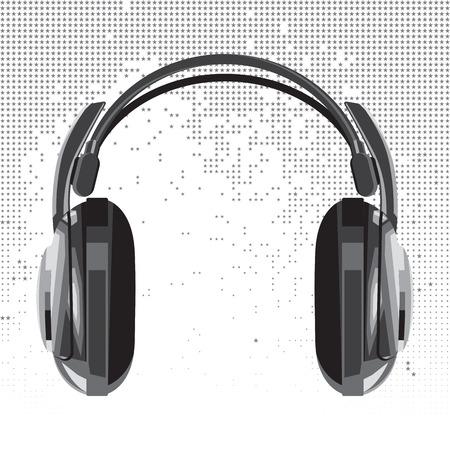 audifonos: auriculares de vectores en que consiste de las Estrellas