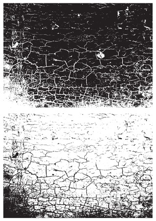 parched: Grunge black and white texture. Distress texture. Scratch texture. Wall background. Rubber stamp texture. Rough texture. Rust texture. Damaged wall texture Illustration