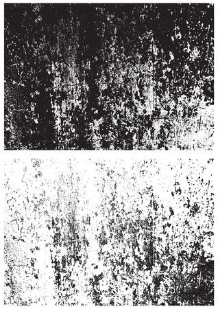 terreno: Grunge texture in bianco e nero. Trama Distress. Trama Scratch. Parete di fondo. Rubber stamp texture. Struttura approssimativa. Trama Rust. Struttura della parete danneggiata