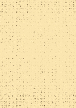 halftones: styled retro background with the effect of old paper with halftones for design Illustration