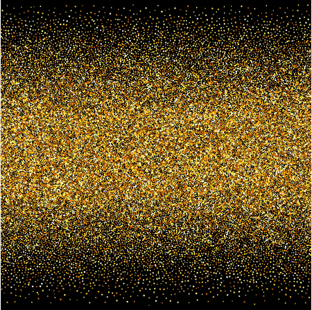 vector background with gold gradients texture on black backdrop