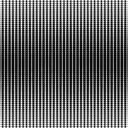 black fabric: Geometric, stylish, technogenic retro halftone background vector illustration Illustration
