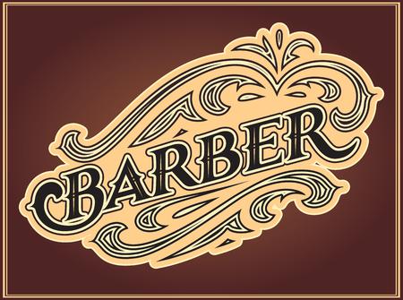 Farbvektor, bearbeitbare Vorlage für die Gestaltung von Anzeigen für Friseursalons. Vektorgrafik