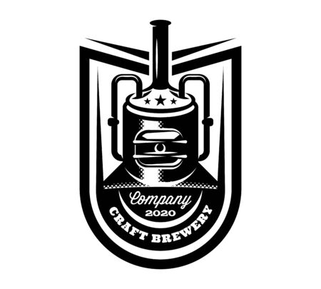 Vector pattern with brewing machine in retro style.