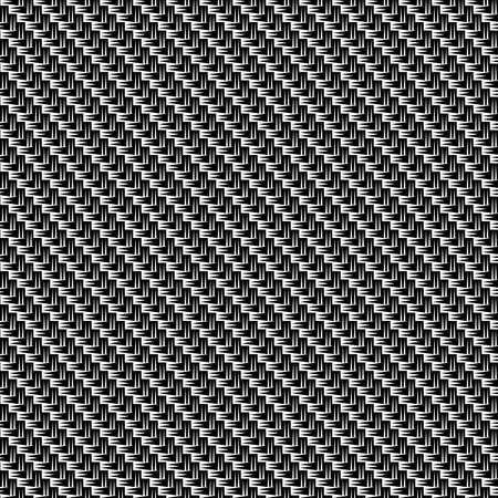 Carbon fiber texture. Vector seamless background. Template for design.