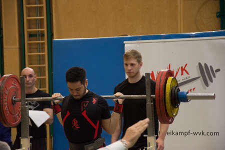 Vienna / Austria / January 02 , 2019: Crossfit competition in Vienna with fit boys and girls athletes Sajtókép