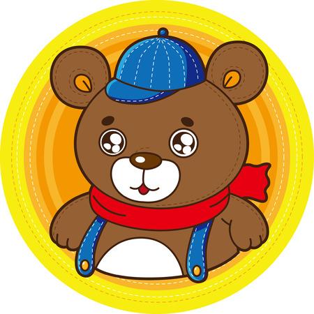 cartoon: Cartoon bear