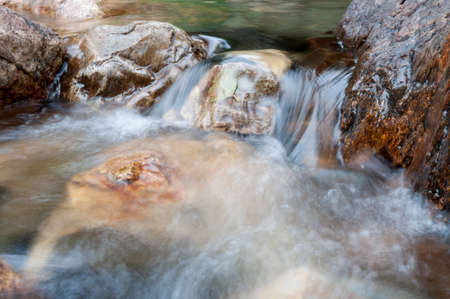 rushing water: river in Portugal