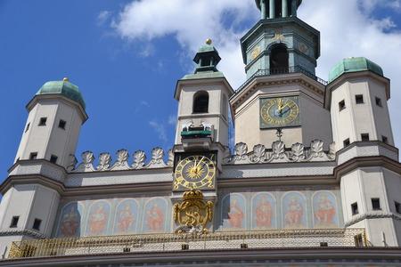 attics: Town hall in Poznan