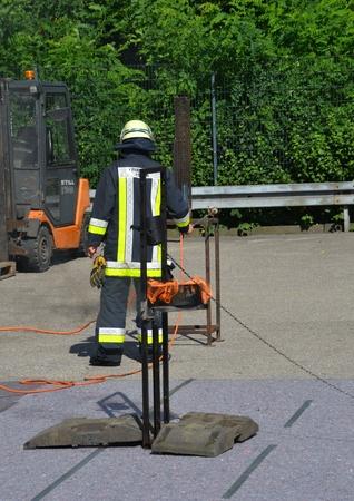 fire department: German Fire department