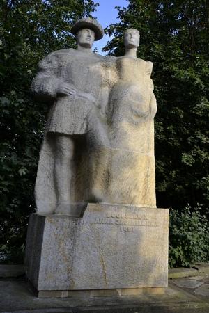 Szczecin - Bogusaw and Anna the Jagiellonian