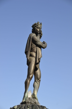 Apollo Fountain Stock Photo
