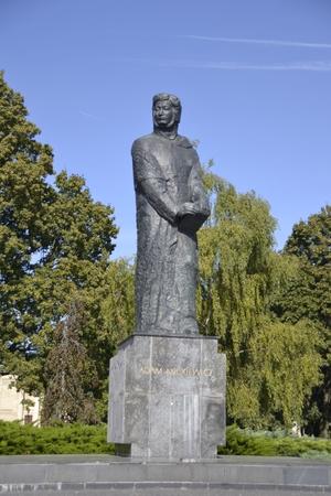 poznan: Monument to Adam Mickiewicz in Poznan
