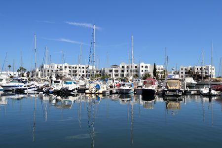tunis: Port in Tunis