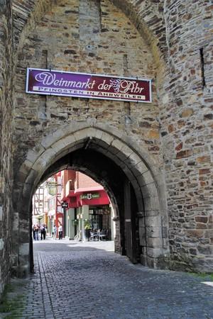 Obertor Ahrweiler, Rheinland-Pfalz, Deutschland