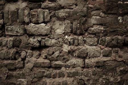 piso piedra: antiguo muro de piedra en Beijing Hutong