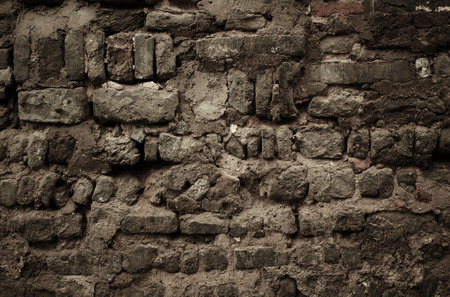 stone wall: old stone wall in Beijing Hutong