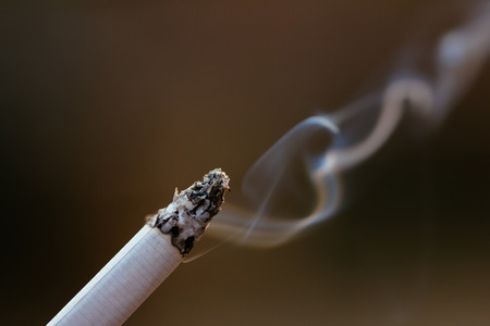 fag: close up of cigarette Stock Photo