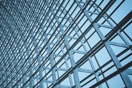 estructura: La estructura de acero de la pared de cristal en Beijing