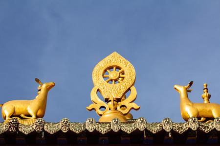 lamaism: Lama temple in Tibet