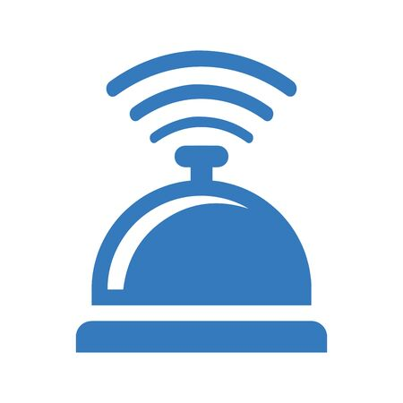 Beautiful design and fully editable Table bell icon design.