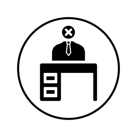 Well organized and fully editable Workplace, worker, employee booking center icon vector icon for any use like print media, web, stock images, commercial use or any kind of design project.