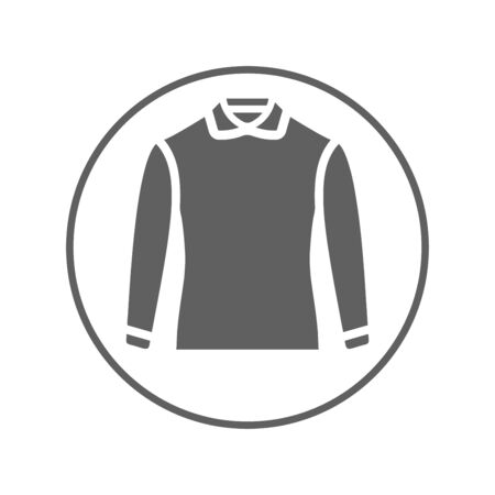 Man clothing icon, male dress, shirt. Beautiful design and fully editable vector for commercial, print media, web or any type of design projects.