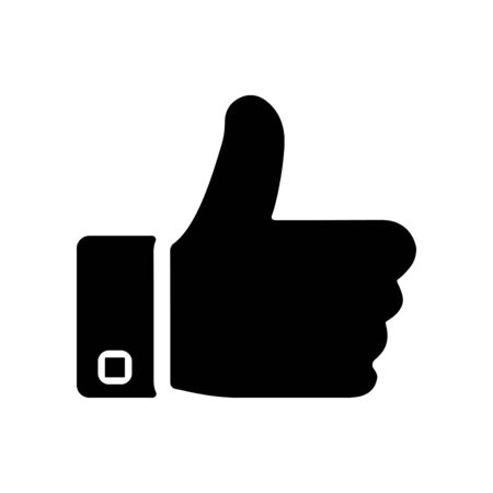 Like sign icon Thumbs up symbol. Use for commercial, print media, web or any type of design projects.